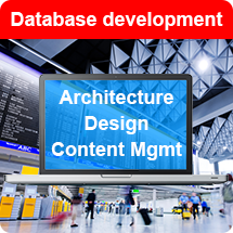 Communiquer database development Architecture Design and Content Management